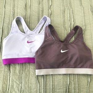 NIKE bundle sports bras